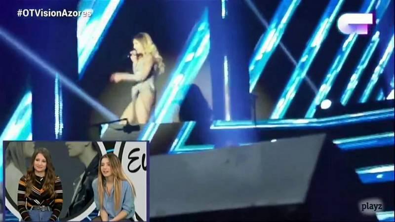 """OTVisión - Mimi y Thalía sobre el concierto de Madrid: """"La adrenalina siempre sigue ahí"""""""