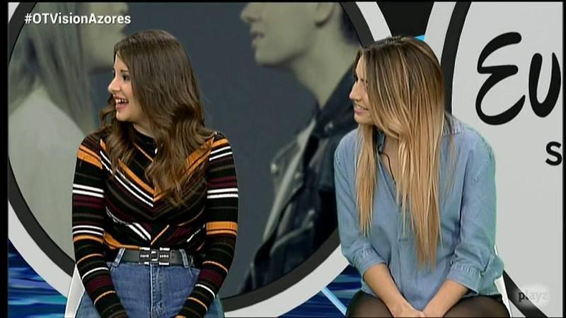 OTVisión - Mimi y Thalía se mojan y votan su 'Top3'