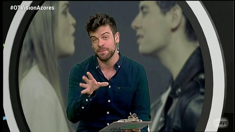 OTVisión - Ricky desvela la incógnita de quién lleva fruta a Eurovisión