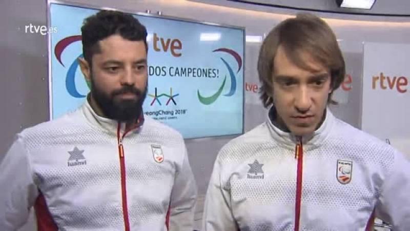 """Jon Santacana y Miguel Galindo han agradecido el apoyo de los seguidores durante los pasados Juegos Paralímpicos de Pyeonchang 2018: """"Gracias por estar ahí y que no dejéis de hacerlo""""."""