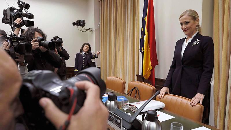 """Cifuentes: """"Que haya casos de corrupción muy graves no nos convierte en un partido corrupto"""""""