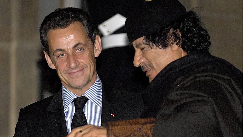 Sarkozy, detenido por presunta financiación ilegal de la campaña a la Presidencia de 2007