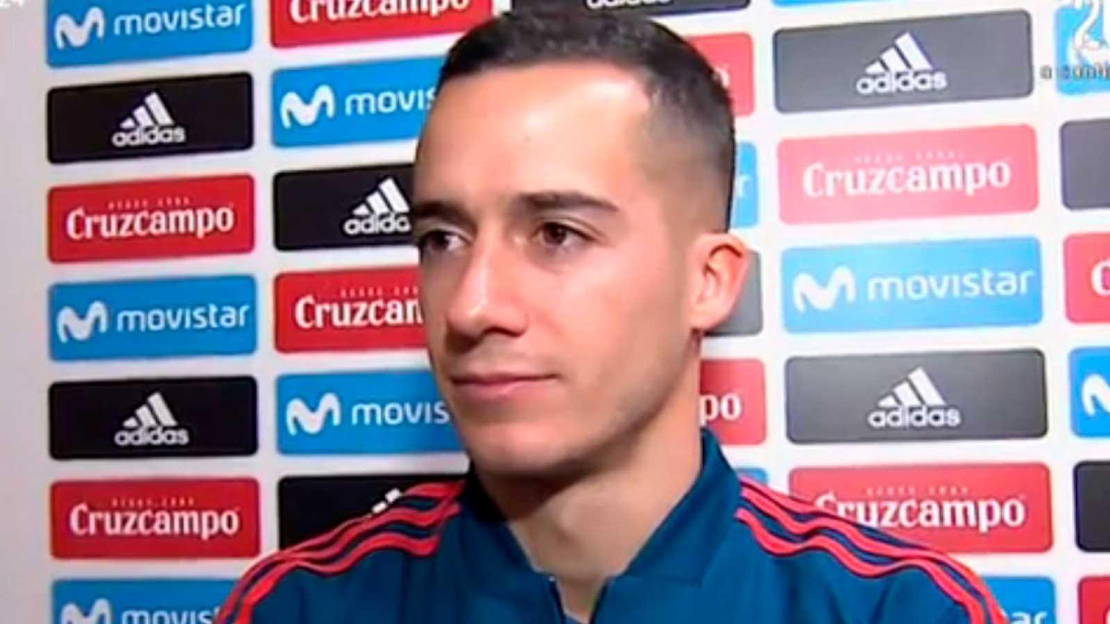 """Lucas Vázquez: """"Si hacemos las cosas bien podemos pelear por el Mundial"""""""