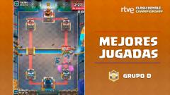 RTVE Clash Royale Championship. Grupo D - Las mejores jugadas
