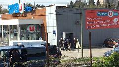 Un hombre armado retiene a varios rehenes en un supermercado en el sur de Francia