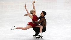Patinaje Artístico - Campeonato del Mundo. Programa corto danza (Milán)