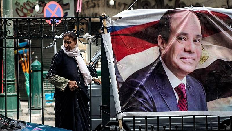 Al Sisi afronta unas elecciones sin rivales de peso