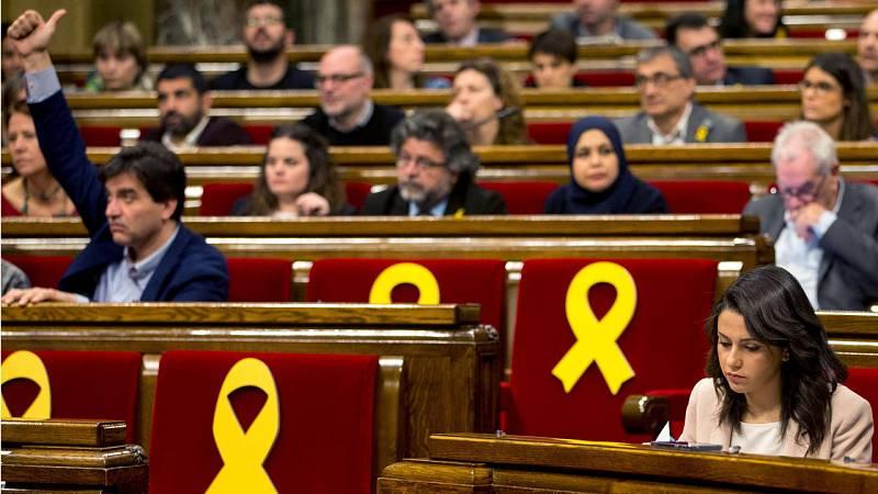 """JxCat no renuncia a la investidura de Puigdemont y los 'comunes' piden un Gobierno """"transversal"""""""