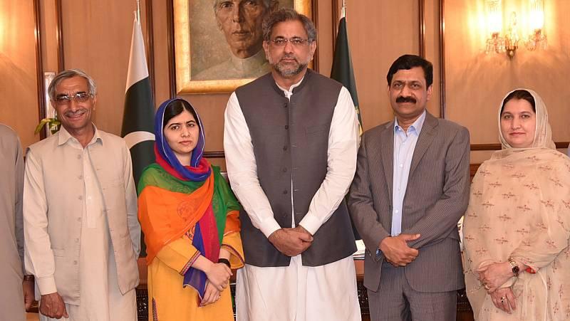 """Malala, en Pakistán: """"Estoy muy feliz de volver, he soñado con este momento durante años"""""""