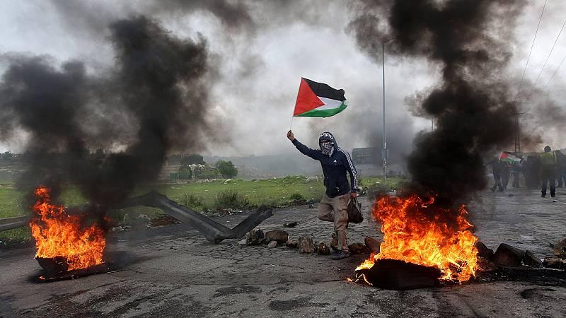Más de una decena de palestinos muertos en las protestas en la frontera entre Gaza e Israel