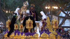 Procesiones de Semana Santa 2018 - Procesión del Calvario desde Málaga