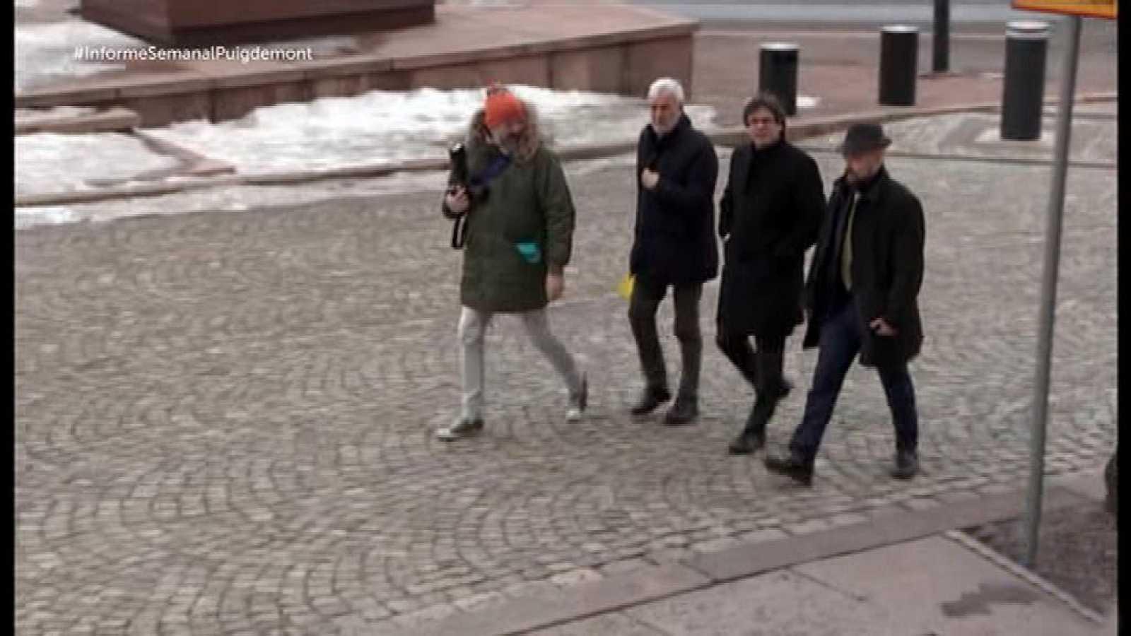 Informe Semanal - El viaje de Puigdemont - ver ahora