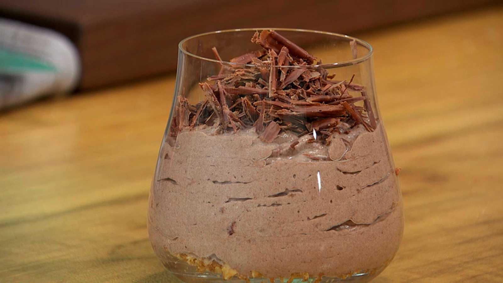 Torres en la cocina - Mousse de chocolate y vino