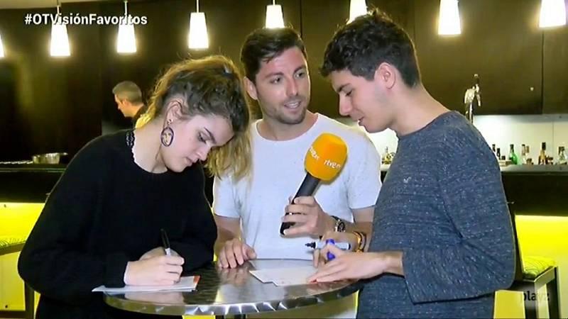 OTVisión - Amaia y Alfred nos dicen sus favoritos para Eurovisión