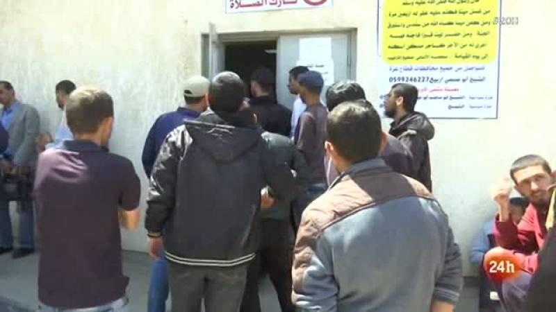 Las protestas siguen en Gaza, donde los hospitales están colapsados por los heridos