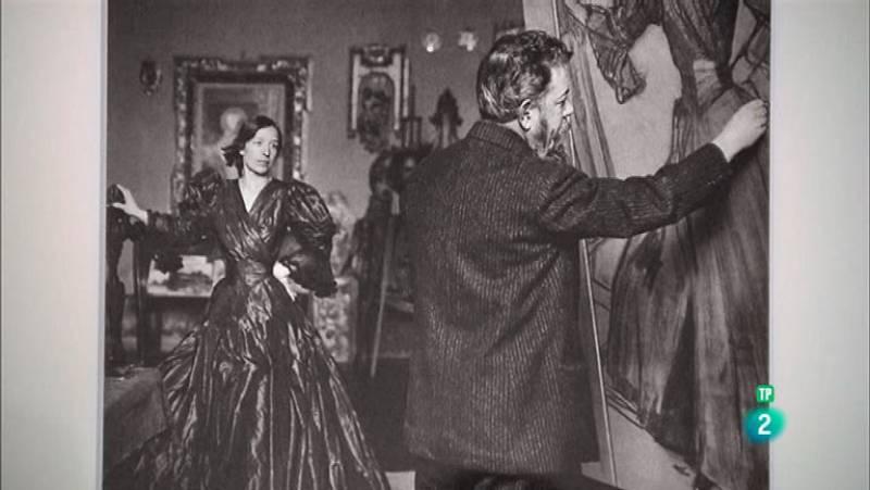 La aventura del saber Sorolla y la moda pintura mujer #AventuraSaberSociedad