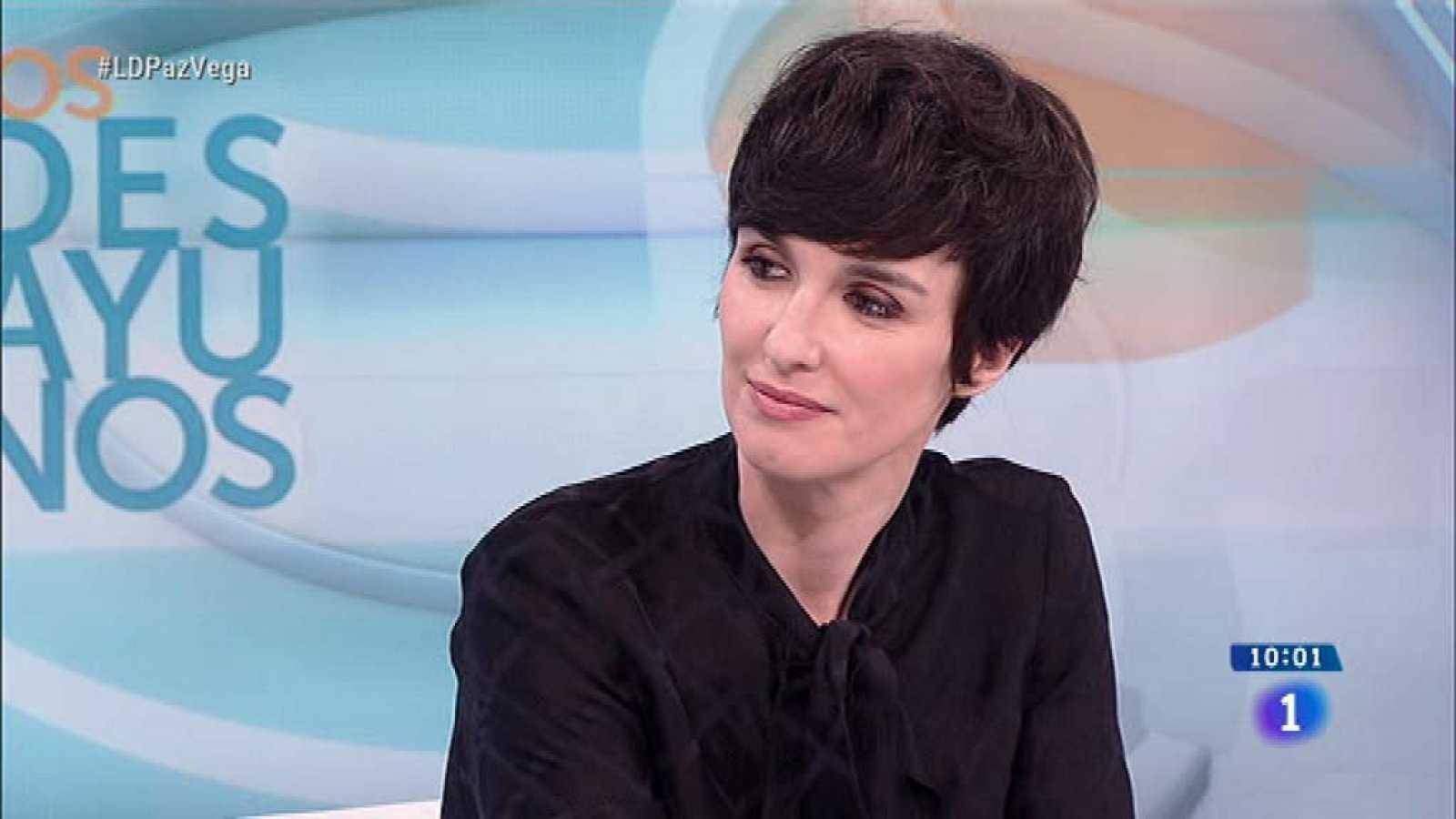 Paz Vega habla de 'Fugitiva' en 'Los desayunos'