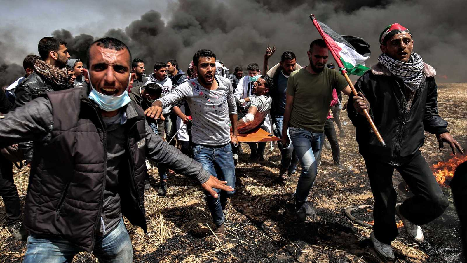 Las protestas y los enfrentamientos vuelven a Gaza