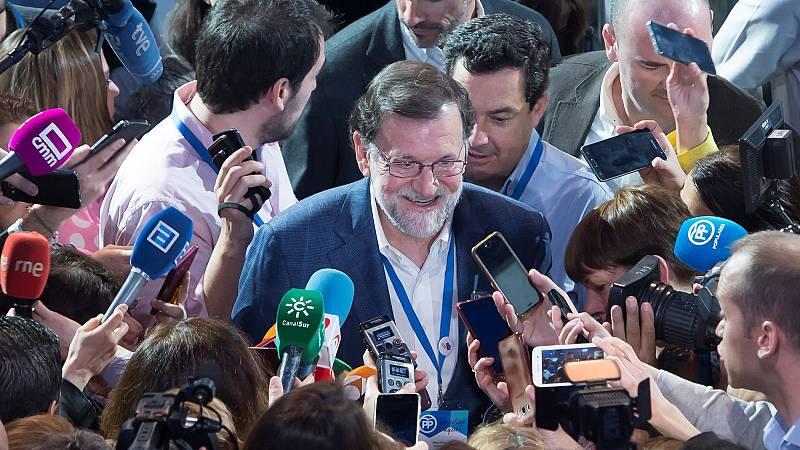 """Rajoy: """"Manifiesto el apoyo del PP a la presidenta de la Comunidad de Madrid"""""""