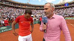 """Rafa Nadal: """"Ahora tenemos máxima confianza en David Ferrer"""""""