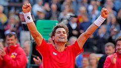 Ferrer culmina la remontada y lleva a España a las semifinales
