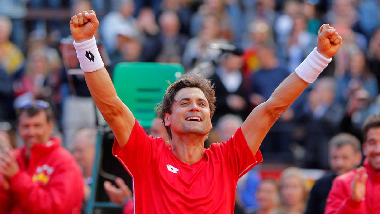 Copa Davis: España a las semifinales de la Davis   RTVE.es