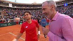 """David Ferrer: """"Ha sido el broche de oro a mi carrera"""""""