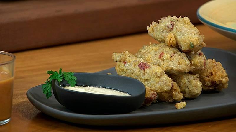 Torres en la cocina - Buñuelos de cebada