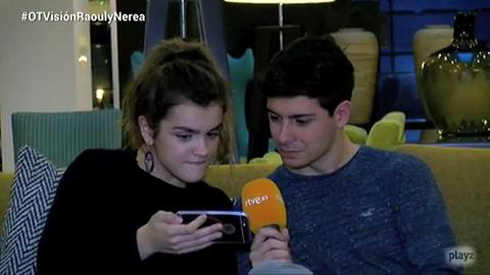 OTVisión - Amaia y Alfred nos cuentan las novedades desde TelAviv