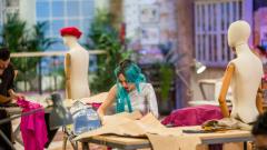 Maestros de la costura - Vestuario de teatro con máquinas de coser antiguas