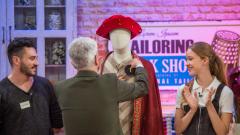 Maestros de la costura - Lorenzo Caprile invita a Antonio a trabajar con él
