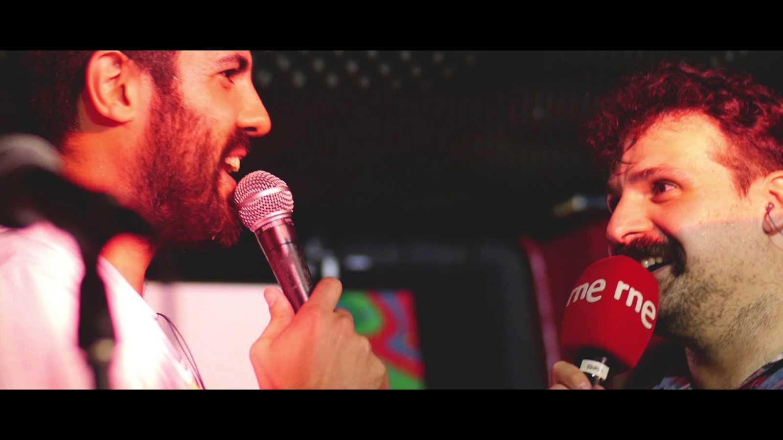 La Pegatina presentan 'Ahora o Nunca' en directo Radio 3