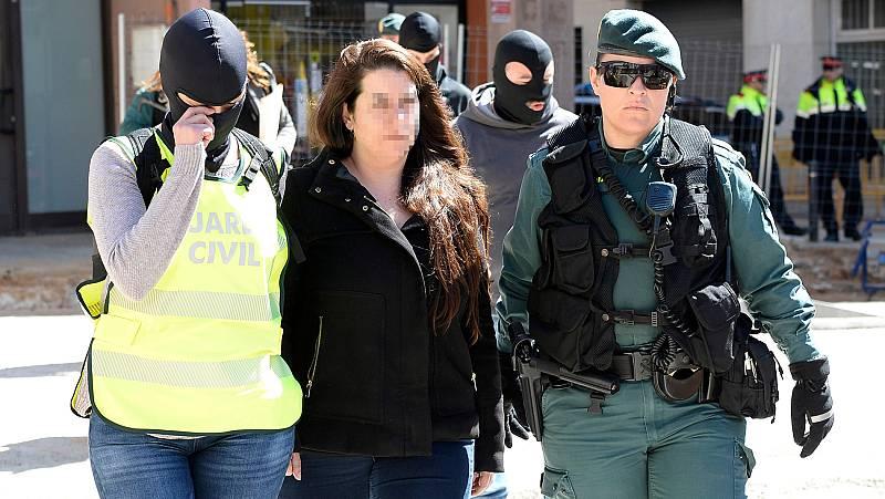 Detenida una integrante de los CDR por rebelión y terrorismo
