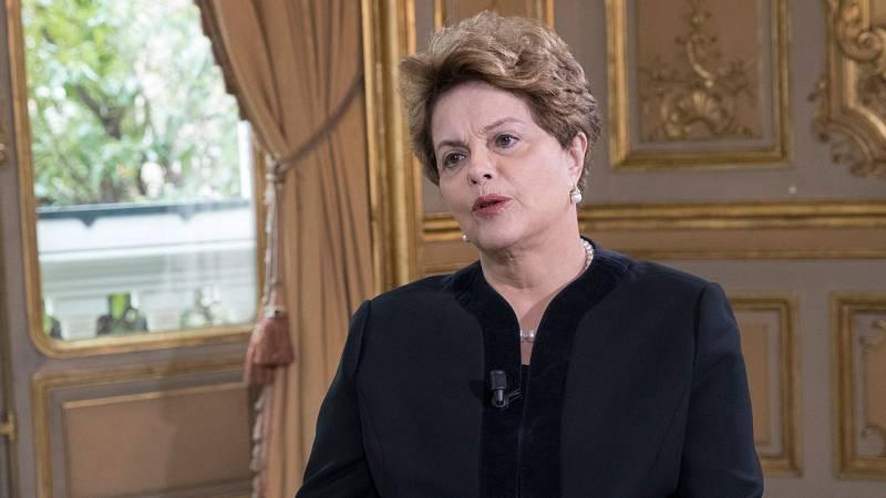 """Dilma Rousseff, en TVE: """"Lo de Lula es el tercer acto del golpe que empezó conmigo"""""""