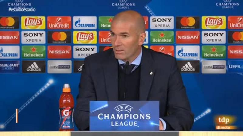 """El entrenador del Real Madrid no ha mostrado dudas en la polémica del partido y afirma que ya no importa hablar del penalti porque """"ha sido pitado y ya no hay marcha atrás""""."""