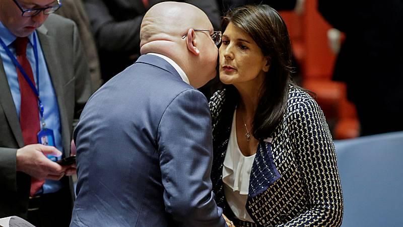 Estados Unidos y Rusia cruzan acusaciones en Naciones Unidas a cuenta del ataque químico en Siria