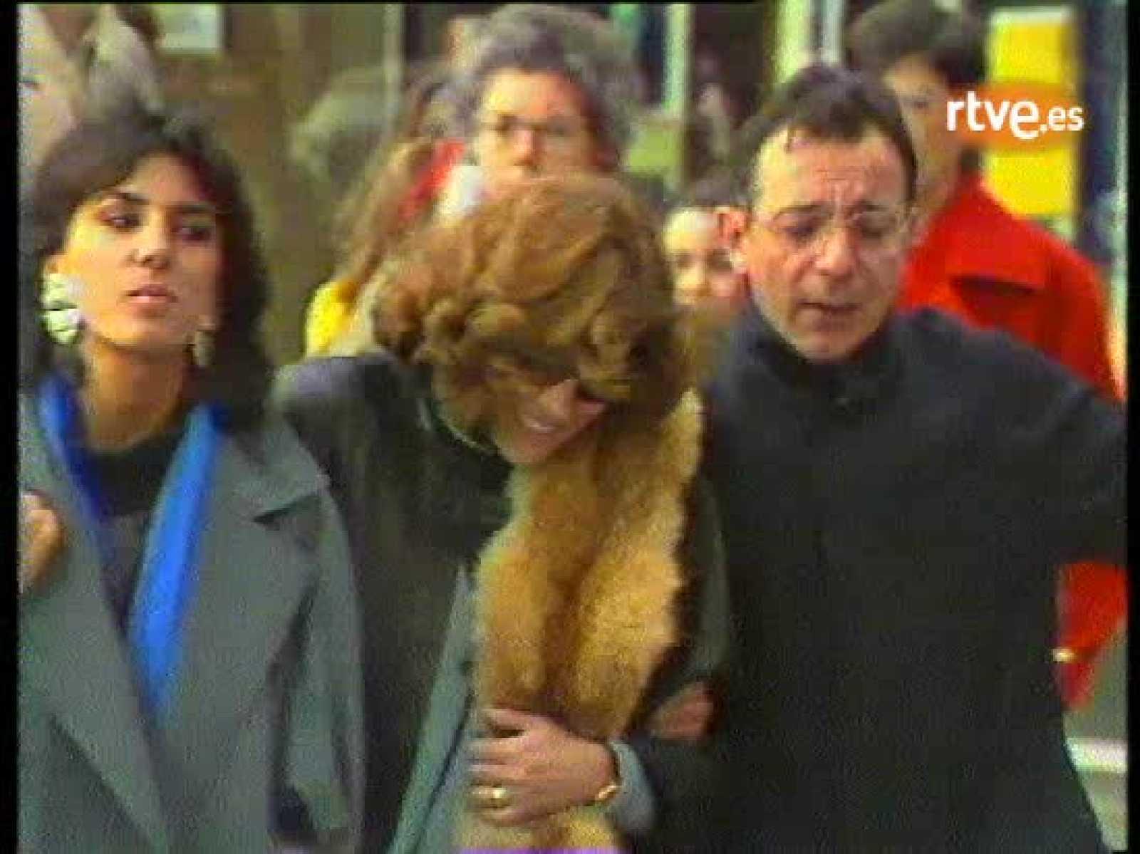 """Presentación oficial de la serie """"Los pazos de Ulloa"""" en A Coruña, el 7 de diciembre de 1985"""