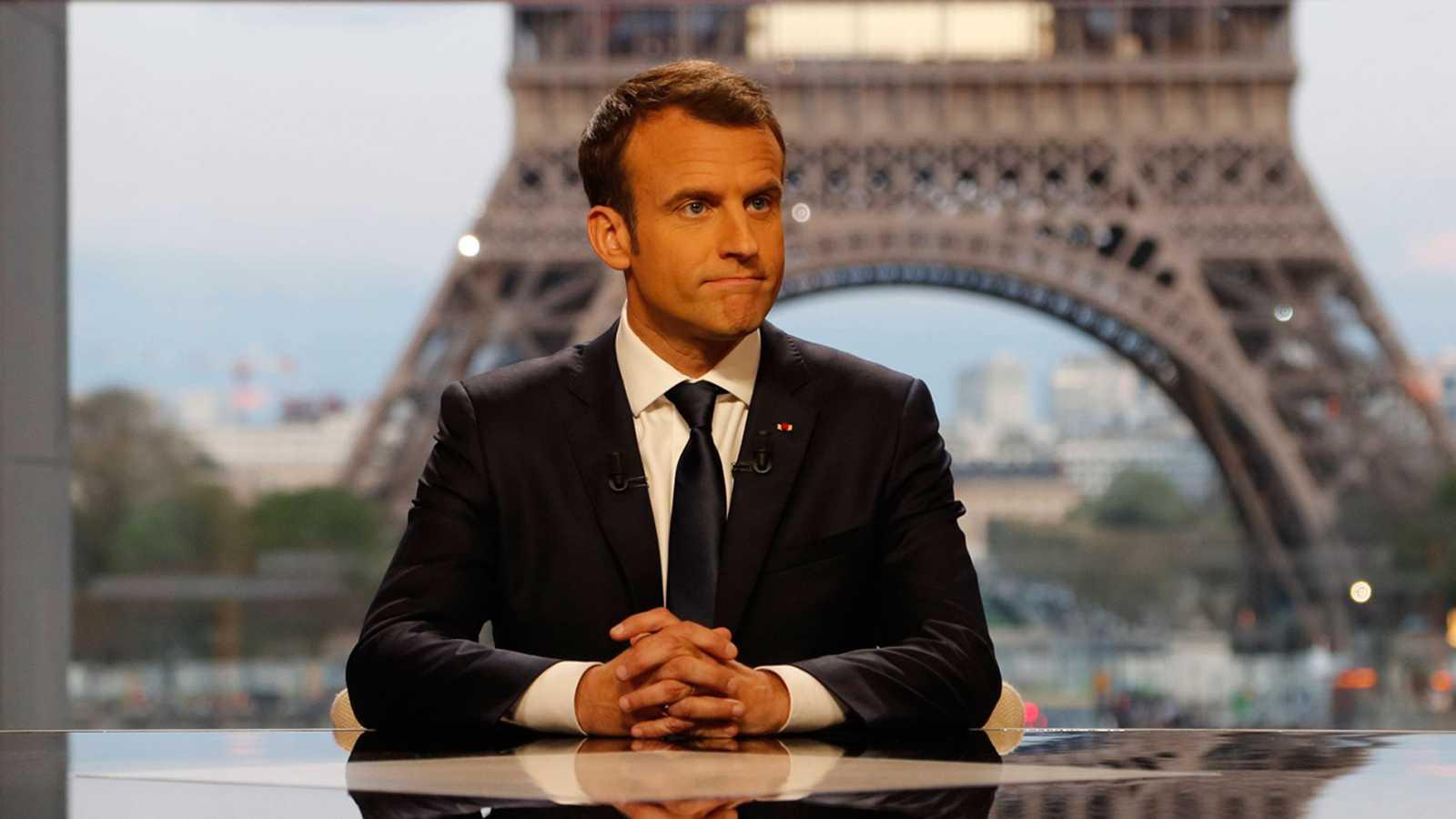 "Macron: ""Francia no ha declarado la guerra a Siria"""