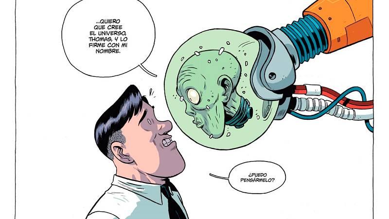 Albert Monteys nos presenta su premiado cómic '¡Universo!'