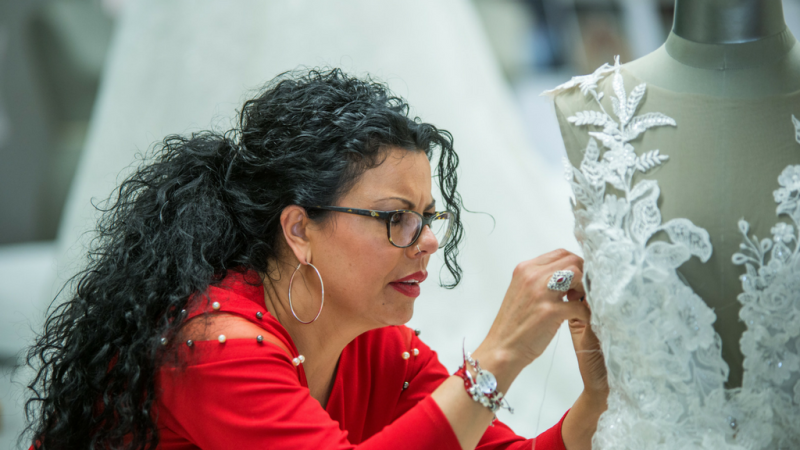 Maestros de la costura - El mejor trabajo de Luisa