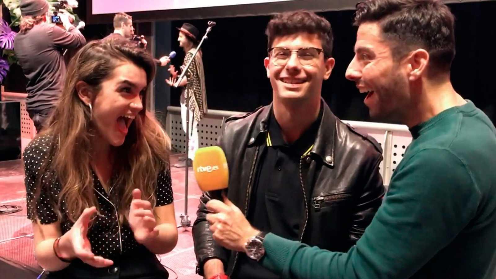 """Eurovisión 2018 - Amaia y Alfred: """"Habrá sorpresas en la fiesta española"""""""