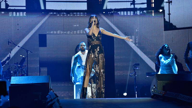 Concierto OT - Aitana canta 'Issues'