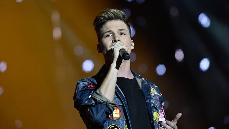 Concierto OT - Raoul canta 'Million reasons'