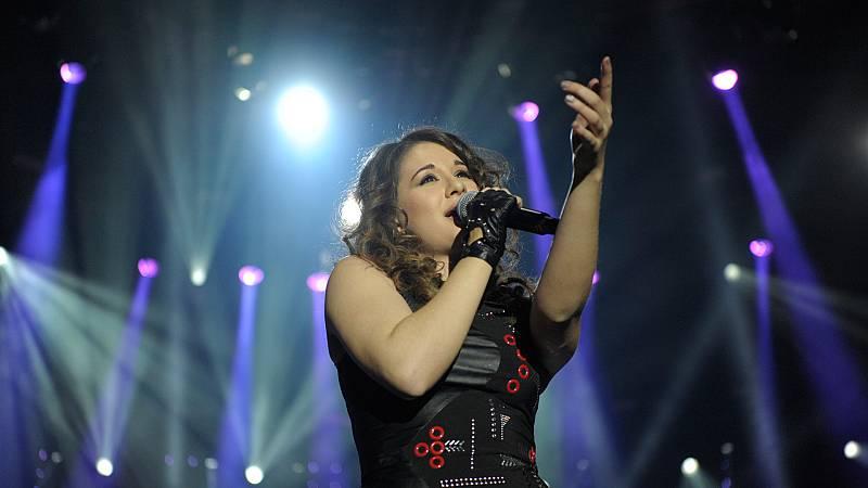 Concierto OT - Thalía canta 'Cenizas'