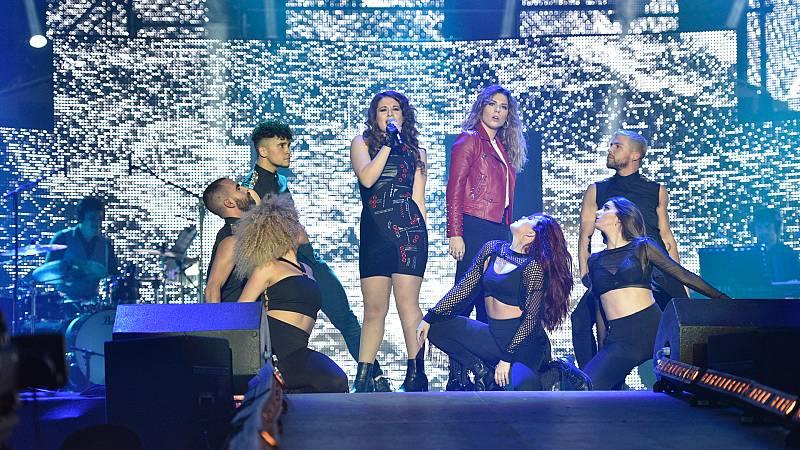 Concierto OT - Thalía y Míriam cantan 'Euphoria'
