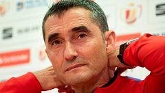 """Valverde: """"El partido de Liga de Sevilla es una referencia clara para nosotros y un aviso"""""""