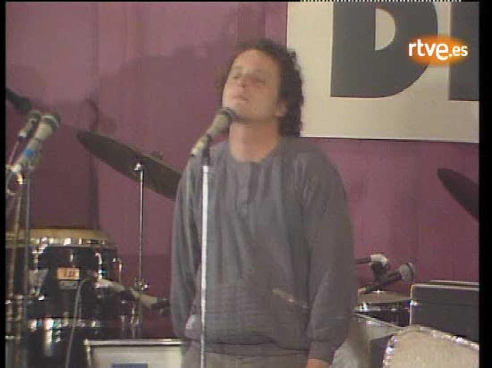 Actuación de Ramón Muntaner, autor de la música de la serie
