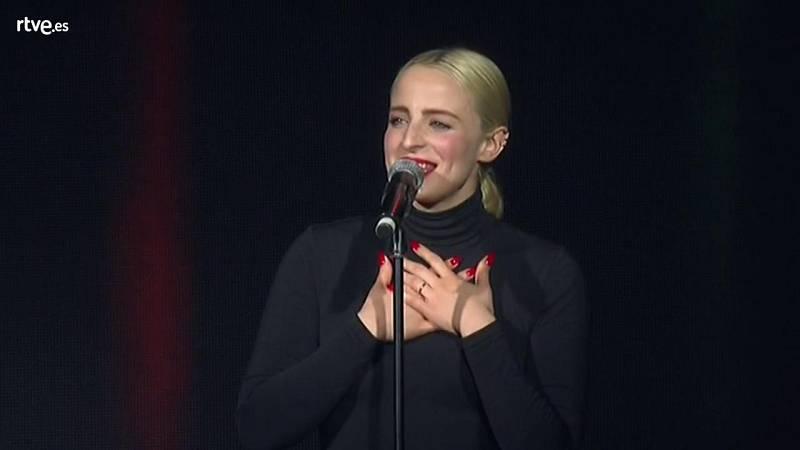 Eurovisión 2018 - Francia: Madame Monsieur cantan 'Mercy' en la EsPreParty