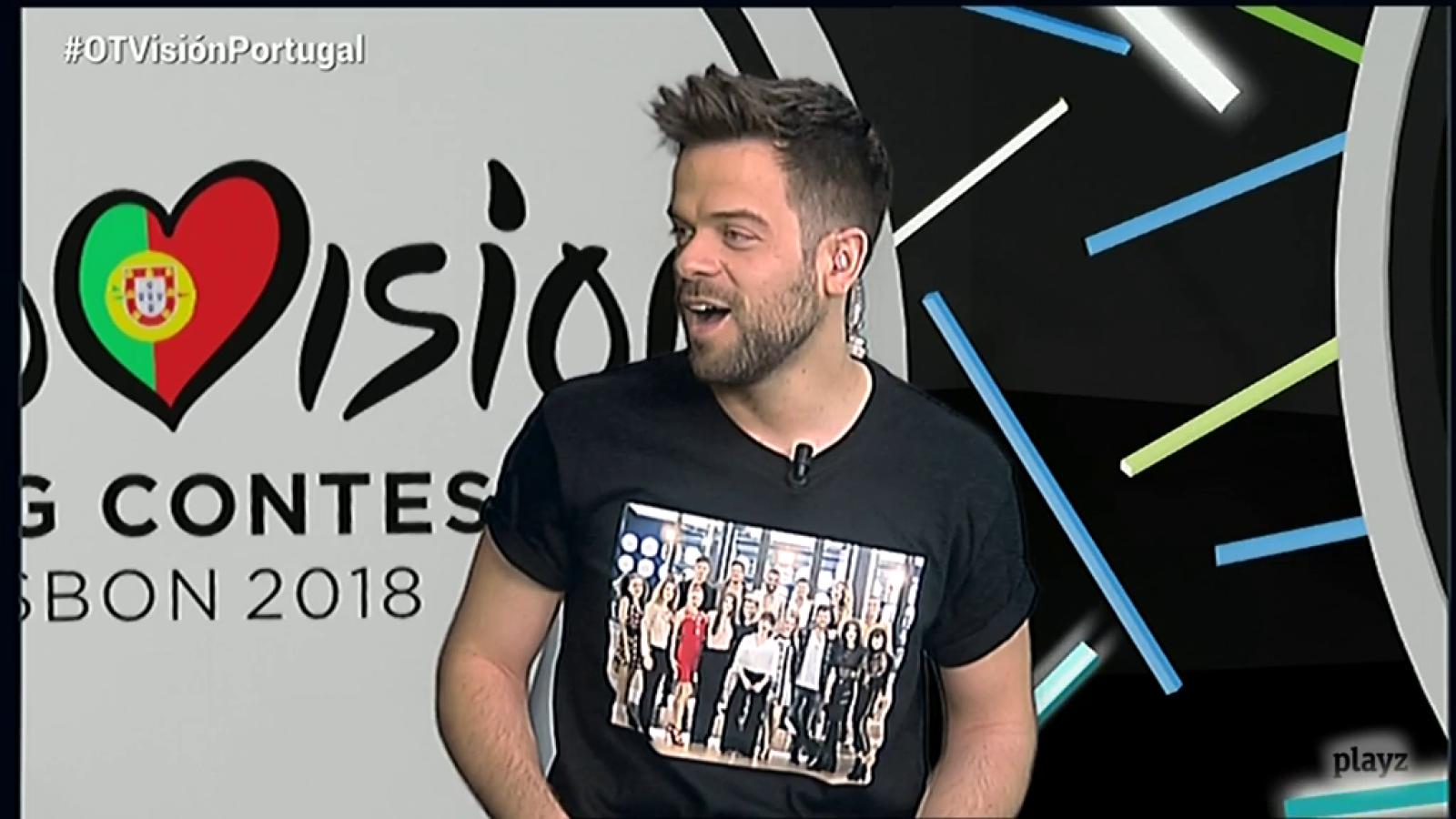 OTVisión - Ricky, enviado especial de RTVE.es a Eurovisión 2018