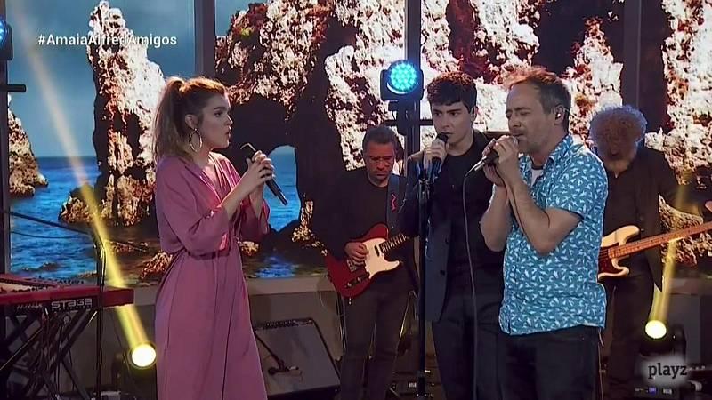 OTVisión - Amaia y Alfred cantan junto a Love of Lesbian 'Incendios de nieve'